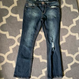 🍁Final Price Mossimo Boot cut distressed jeans